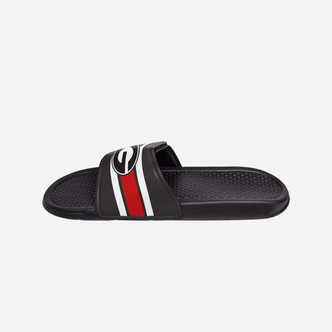 Georgia Bulldogs Stripe Legacy Sport Slide