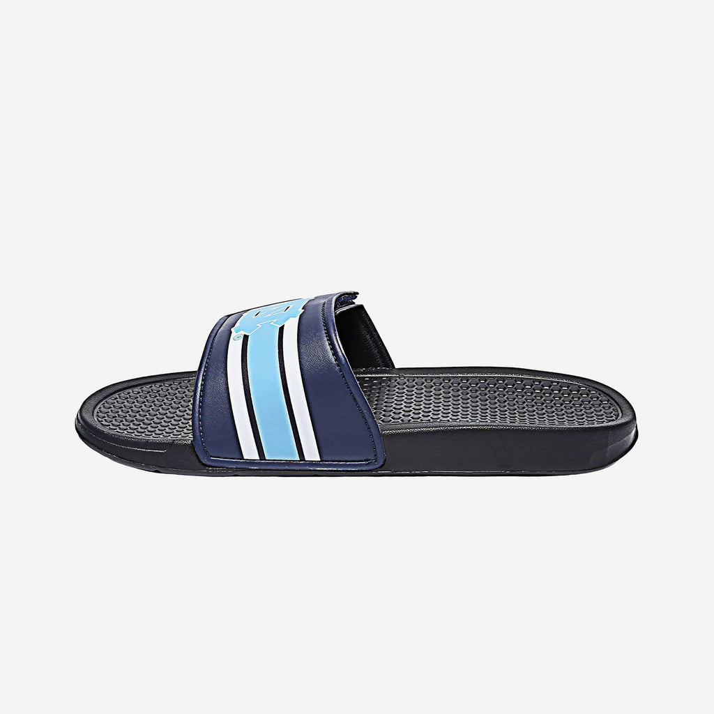 North Carolina Tar Heels Stripe Legacy Velcro Sport Slide