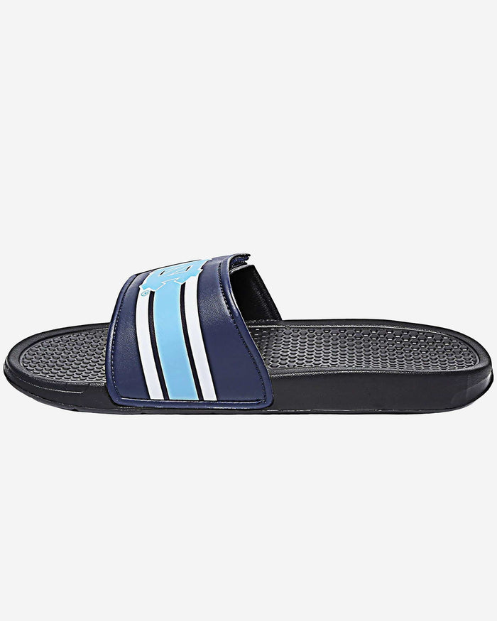 North Carolina Tar Heels Stripe Legacy Sport Slide FOCO - FOCO.com