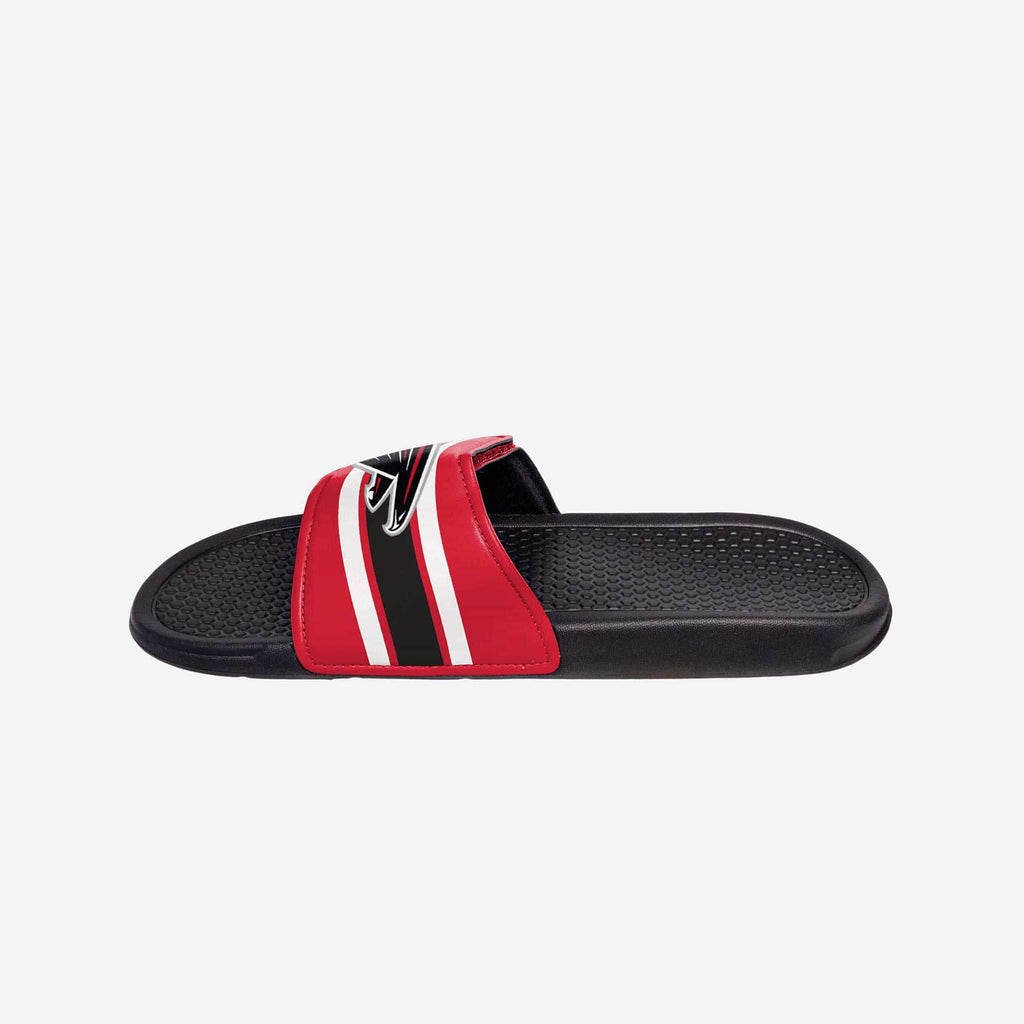 Atlanta Falcons Stripe Legacy Velcro Sport Slide
