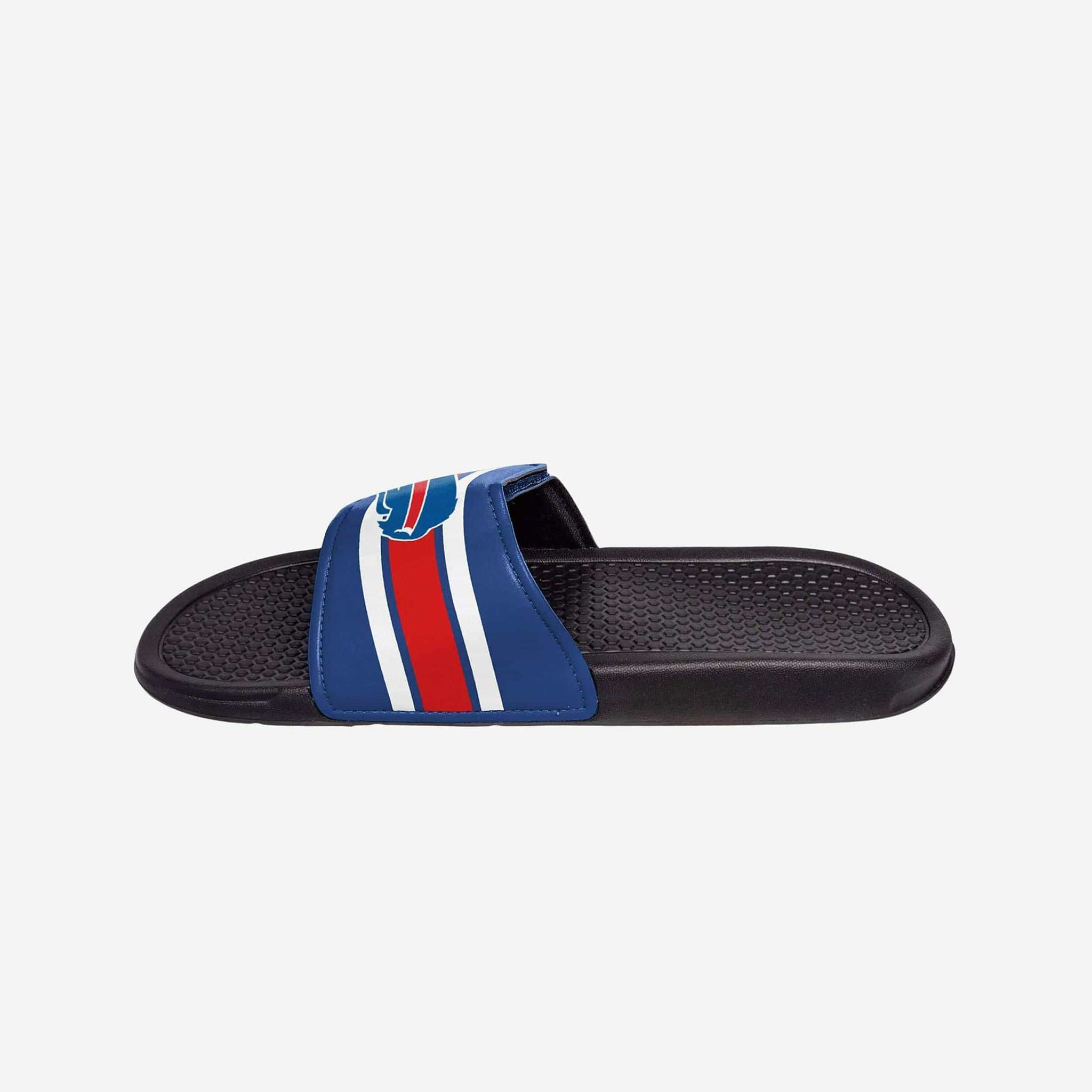 Buffalo Bills Stripe Legacy Velcro Sport Slide