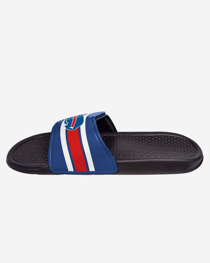 Buffalo Bills Stripe Legacy Sport Slide FOCO - FOCO.com