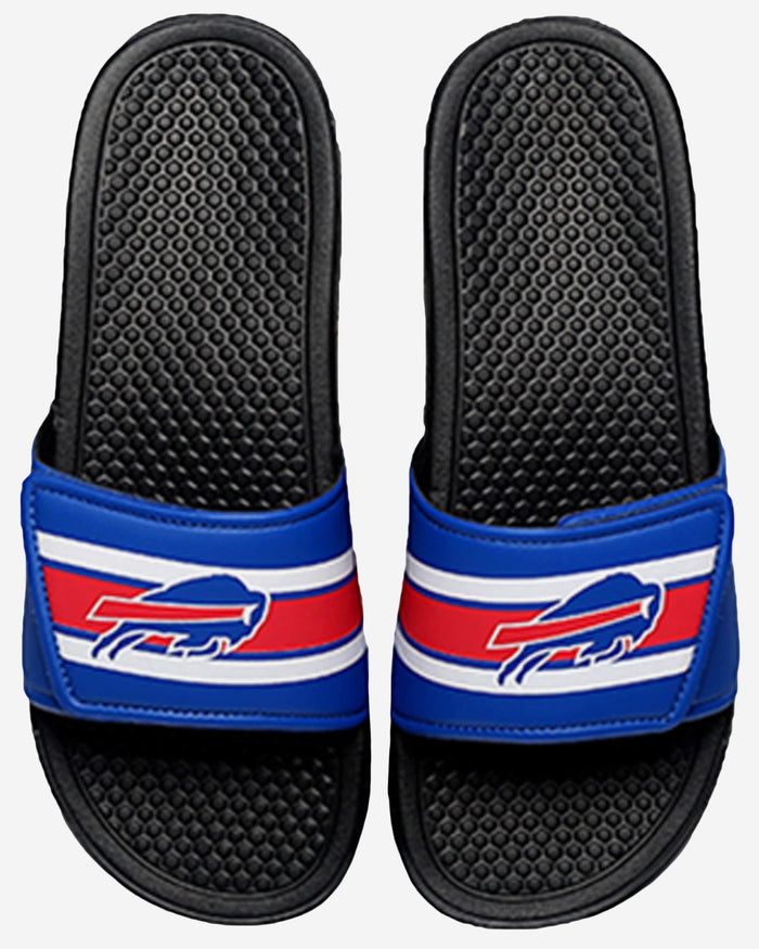 Buffalo Bills Stripe Legacy Sport Slide FOCO S - FOCO.com
