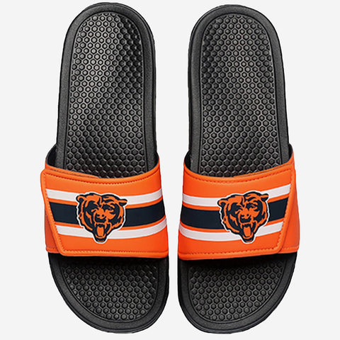 Chicago Bears Stripe Legacy Sport Slide
