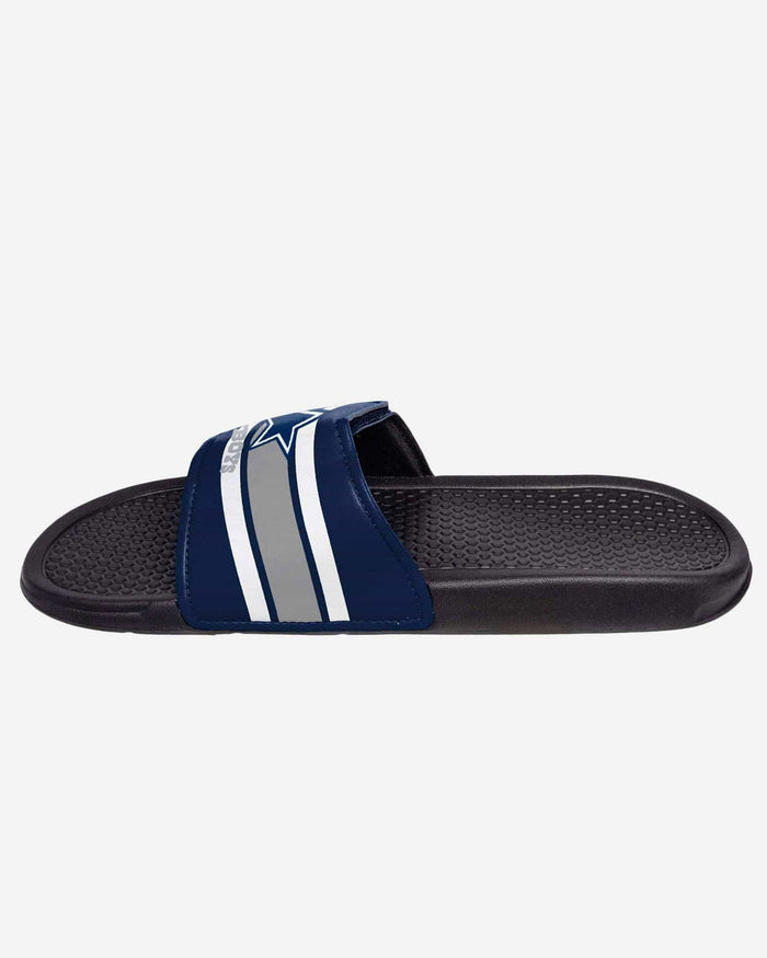 Dallas Cowboys Stripe Legacy Sport Slide FOCO - FOCO.com
