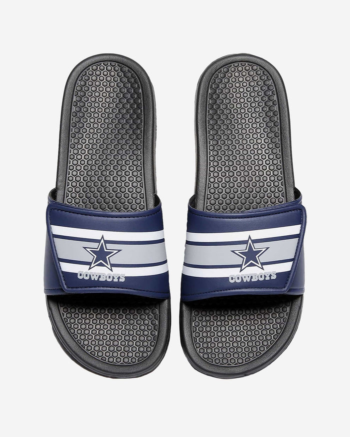 Dallas Cowboys Stripe Legacy Sport Slide FOCO XL - FOCO.com
