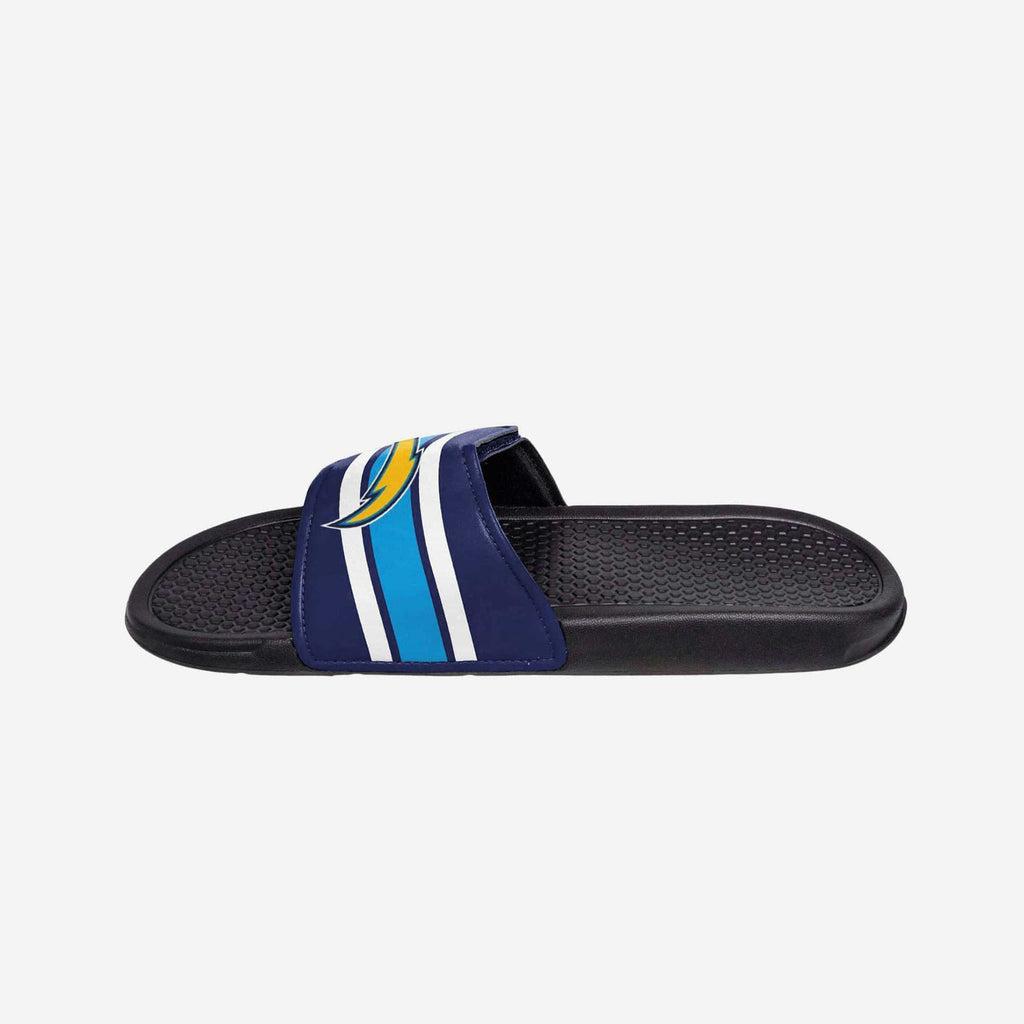 Los Angeles Chargers Stripe Legacy Sport Slide