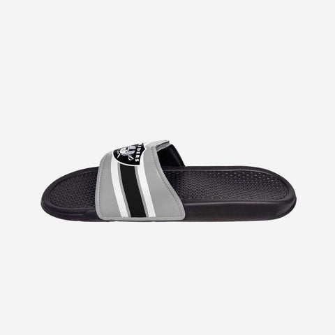 Oakland Raiders Stripe Legacy Sport Slide