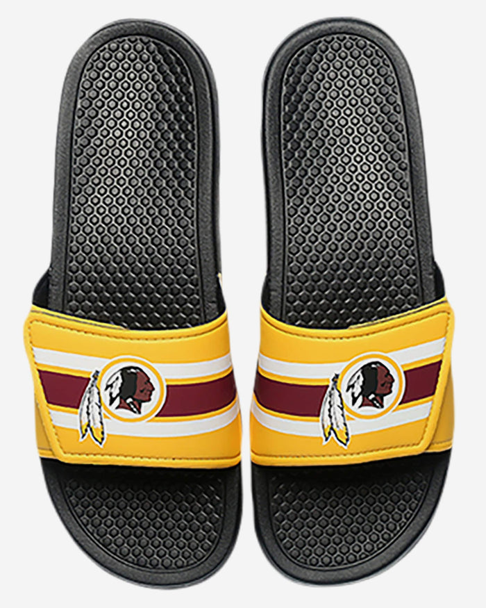 Washington Redskins Stripe Legacy Sport Slide FOCO - FOCO.com