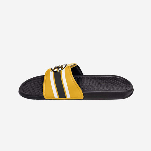 Boston Bruins Stripe Legacy Sport Slide