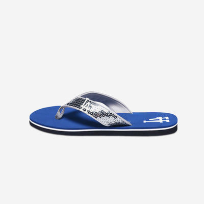 ac67a66cf Los Angeles Dodgers Womens Sequin Flip Flop