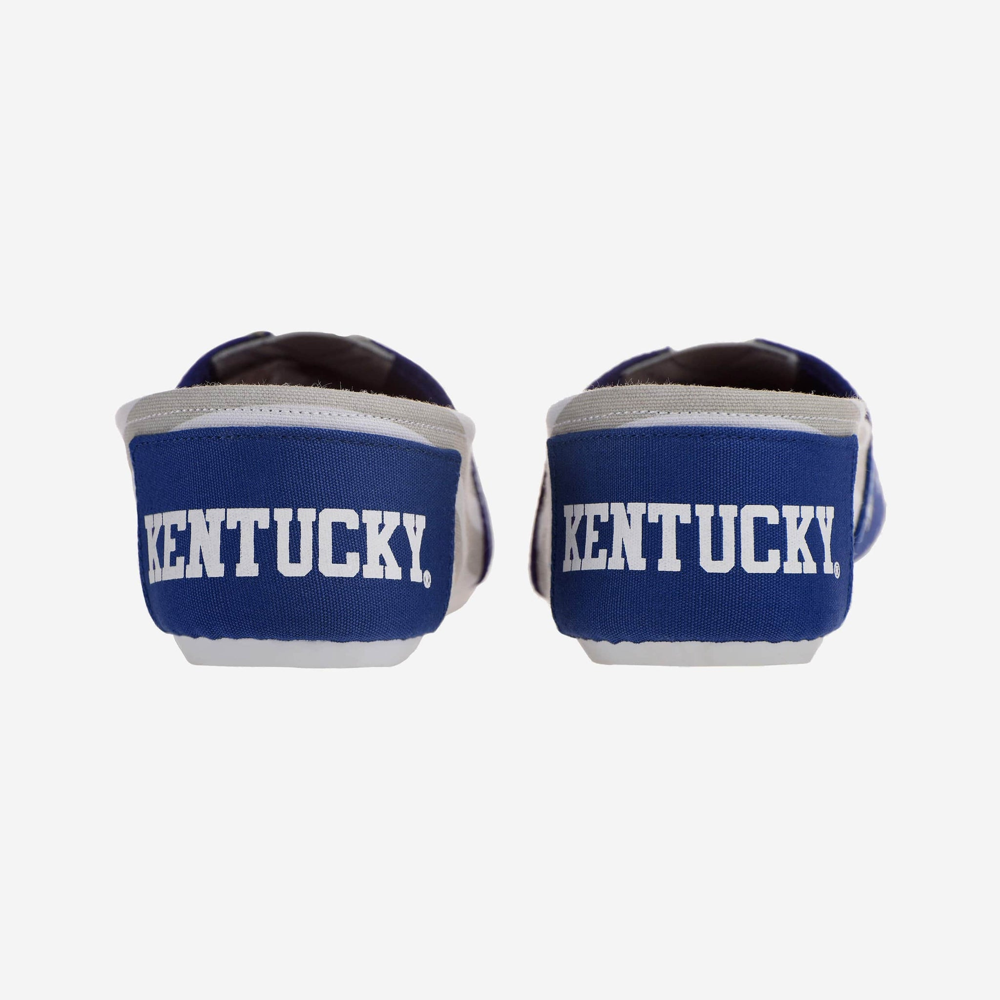Kentucky Wildcats Womens Stripe Canvas Shoe FOCO - FOCO.com
