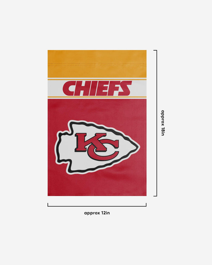 Kansas City Chiefs Garden Flag FOCO - FOCO.com