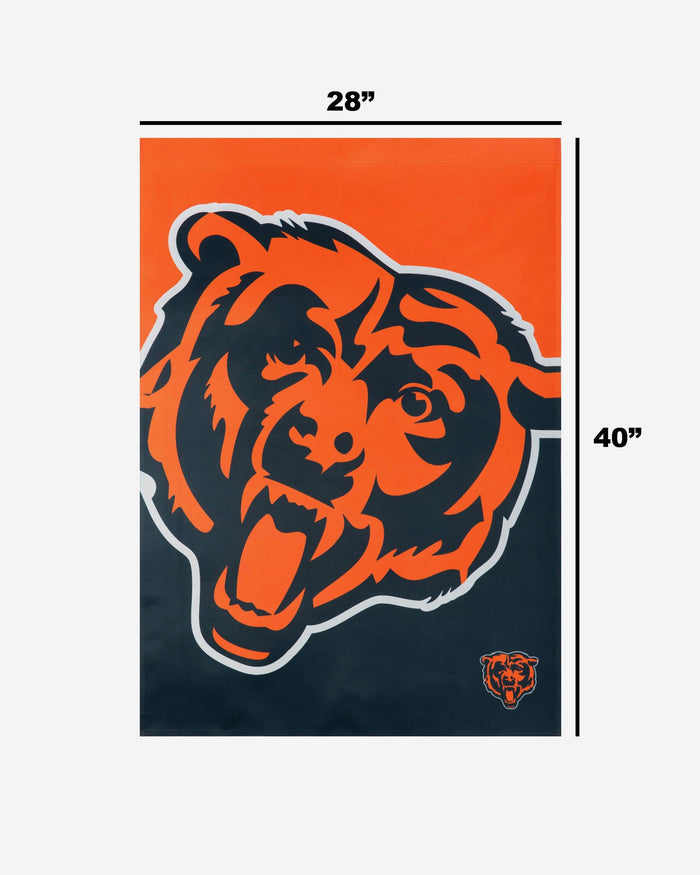 Chicago Bears Vertical Flag FOCO - FOCO.com