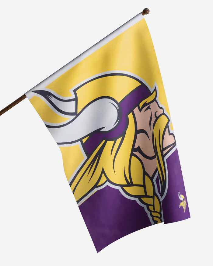 Minnesota Vikings Vertical Flag FOCO - FOCO.com