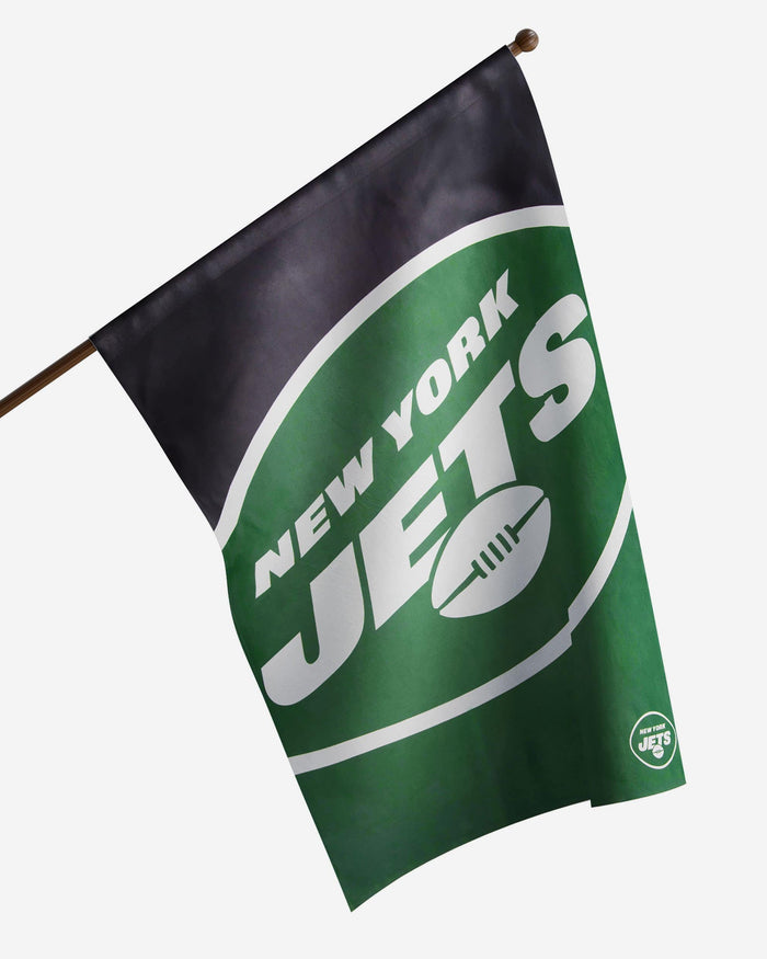 New York Jets Vertical Flag FOCO - FOCO.com