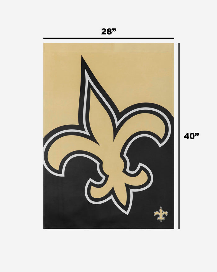 New Orleans Saints Vertical Flag FOCO - FOCO.com