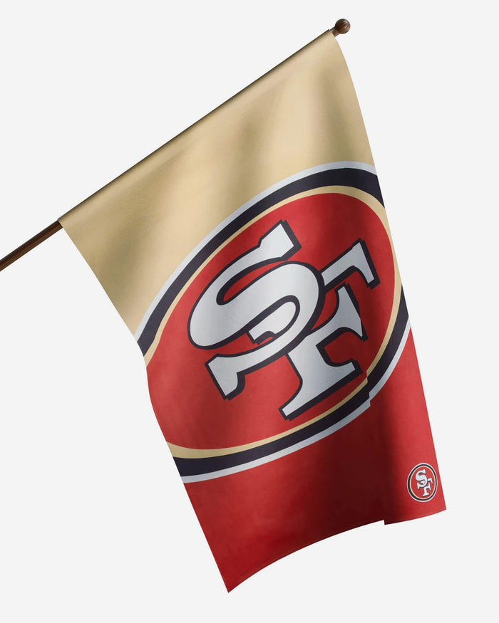 San Francisco 49ers Vertical Flag FOCO - FOCO.com