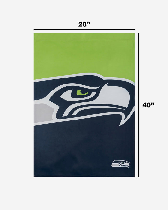 Seattle Seahawks Vertical Flag FOCO - FOCO.com