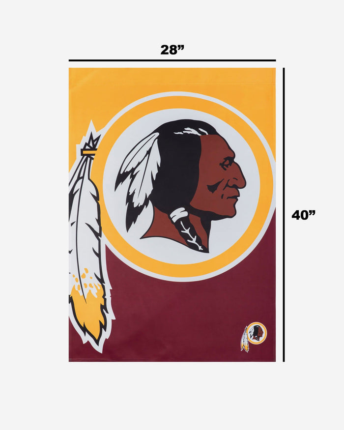 Washington Redskins Vertical Flag FOCO - FOCO.com
