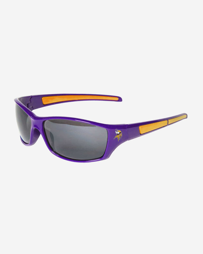 Minnesota Vikings Athletic Wrap Sunglasses FOCO - FOCO.com