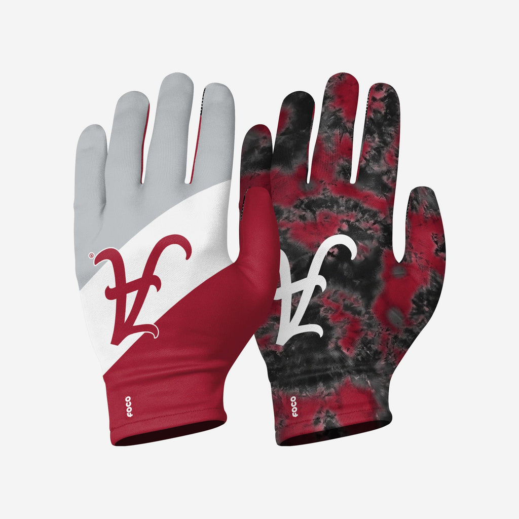 Alabama Crimson Tide 2 Pack Reusable Stretch Gloves FOCO S/M - FOCO.com