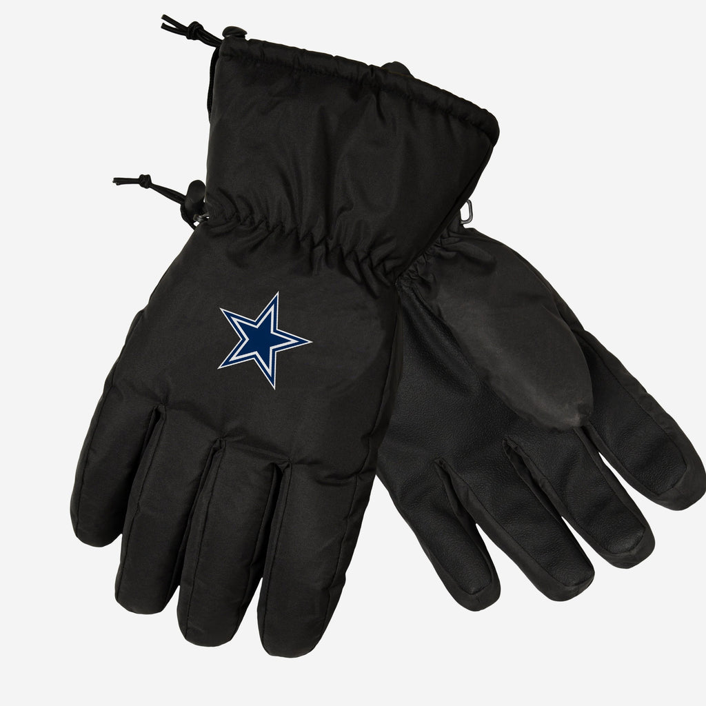 Dallas Cowboys Black Insulated Gloves