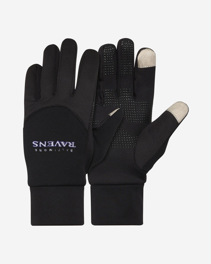 Baltimore Ravens Wordmark Texting Glove FOCO - FOCO.com
