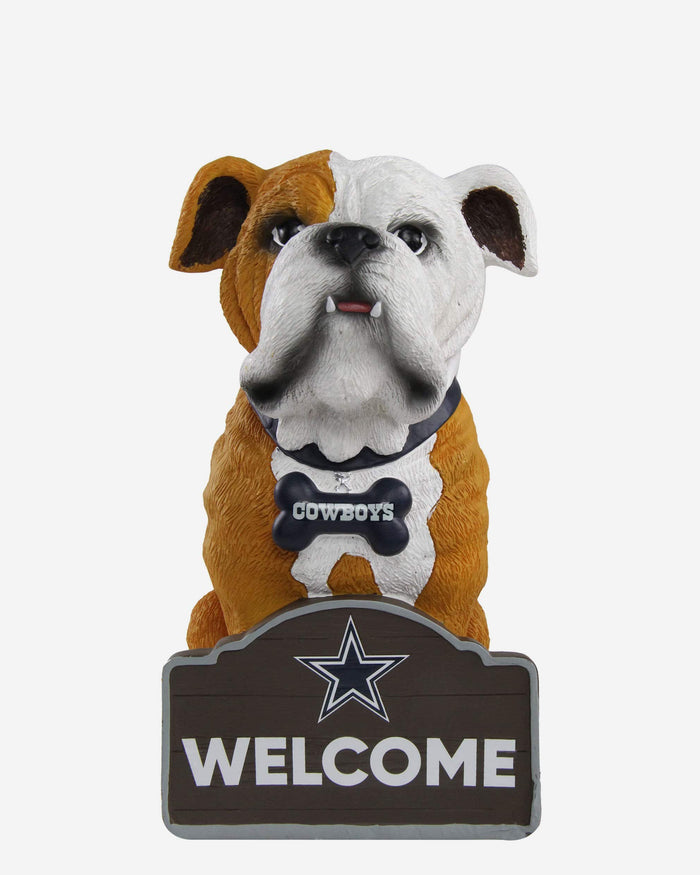 Dallas Cowboys Bulldog Statue FOCO - FOCO.com