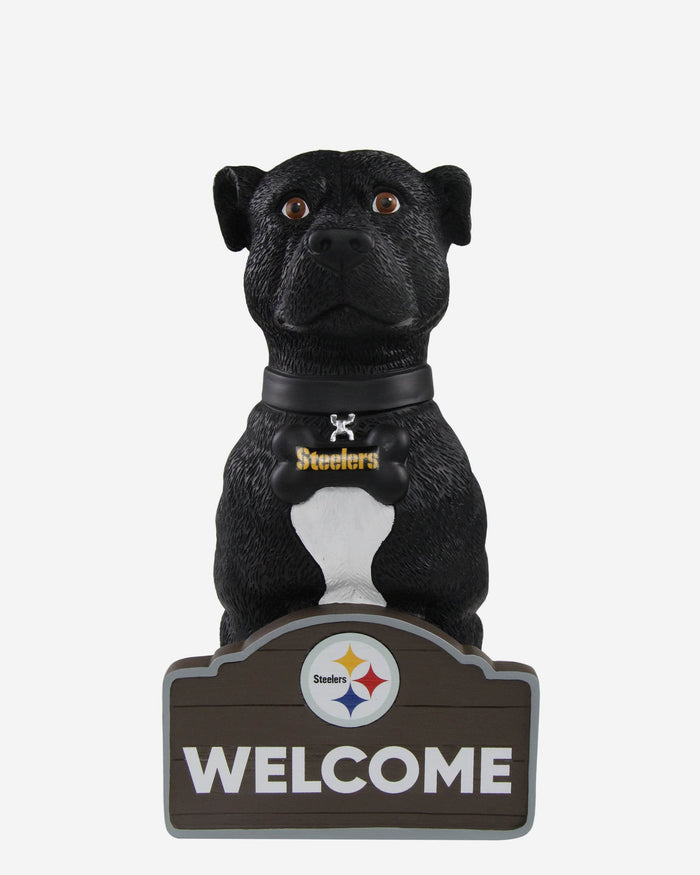 Pittsburgh Steelers American Staffordshire Terrier Statue FOCO - FOCO.com