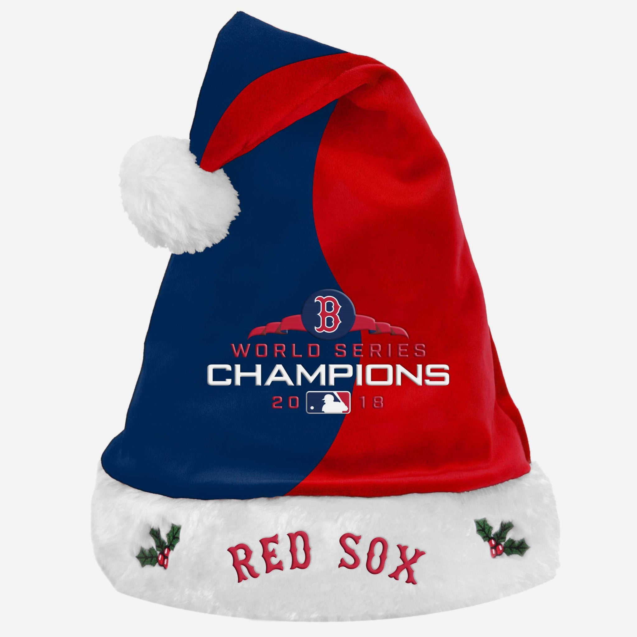 finest selection d3d58 871a3 Boston Red Sox 2018 World Series Champions Santa Hat FOCO - FOCO.com