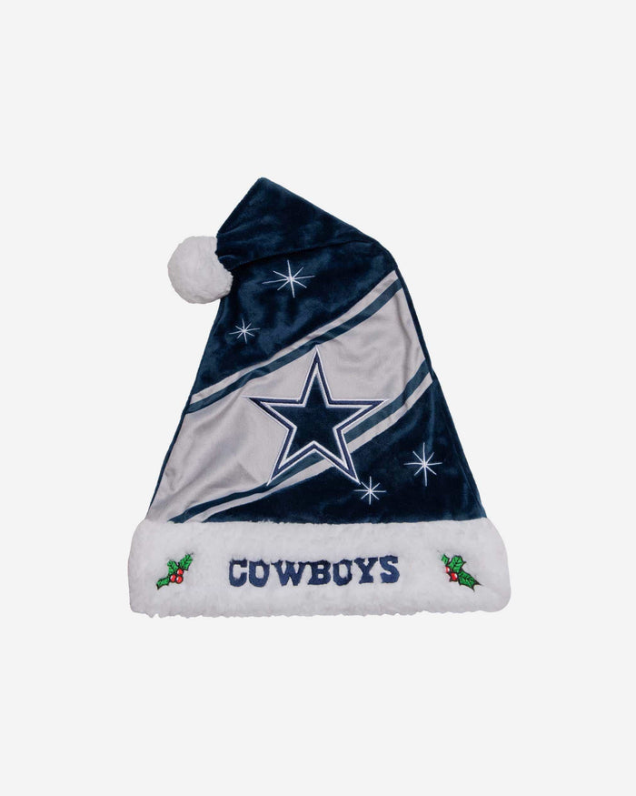 Dallas Cowboys High End Santa Hat FOCO - FOCO.com