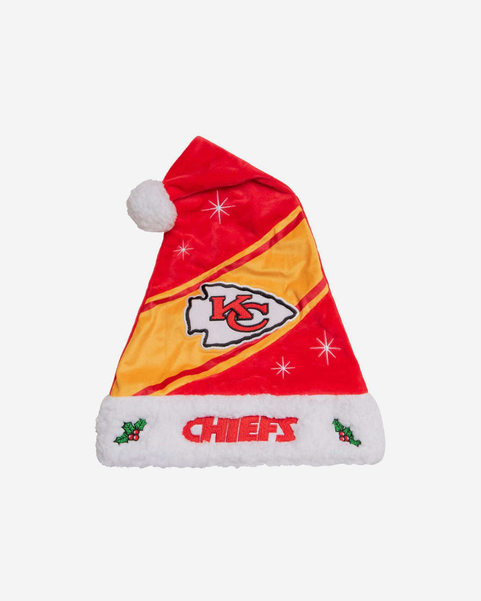 Kansas City Chiefs High End Santa Hat FOCO - FOCO.com