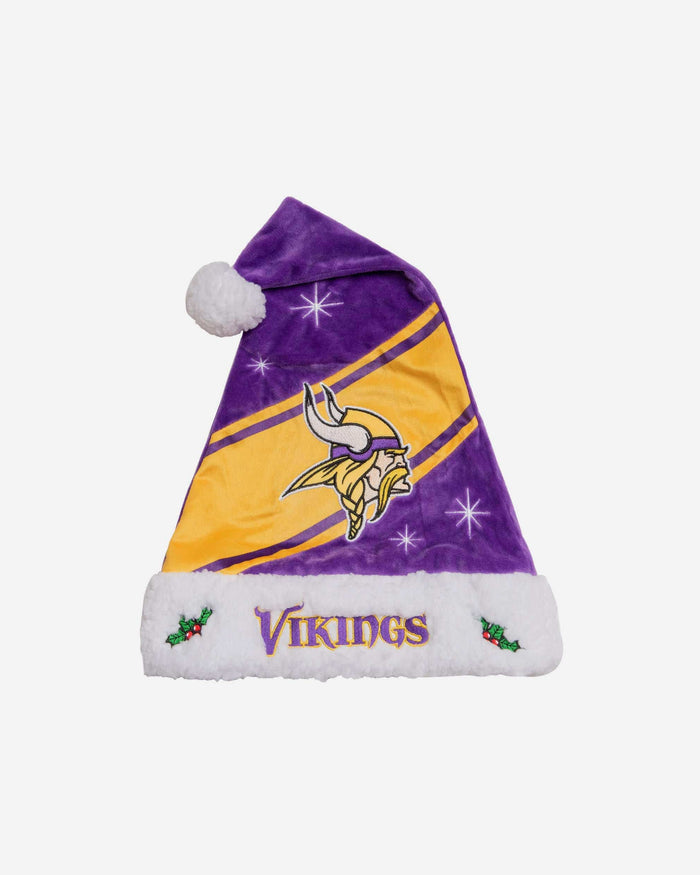 Minnesota Vikings High End Santa Hat FOCO - FOCO.com