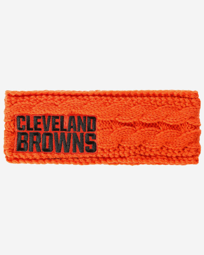 Cleveland Browns Womens Knit Fit Headband FOCO - FOCO.com