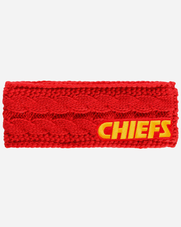 Kansas City Chiefs Womens Knit Fit Headband FOCO - FOCO.com
