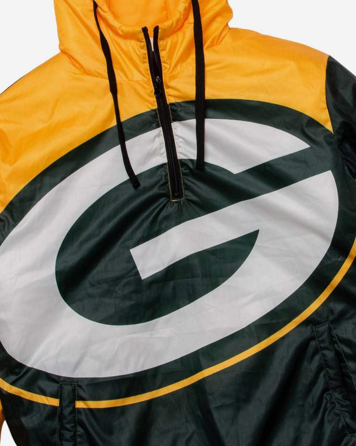 Green Bay Packers Tundra Puffy Poly Fill Pullover FOCO - FOCO.com