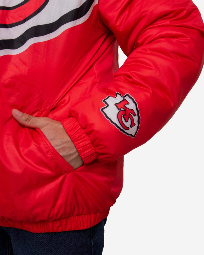 Kansas City Chiefs Tundra Puffy Poly Fill Pullover FOCO - FOCO.com
