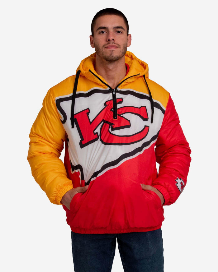 Kansas City Chiefs Tundra Puffy Poly Fill Pullover FOCO S - FOCO.com