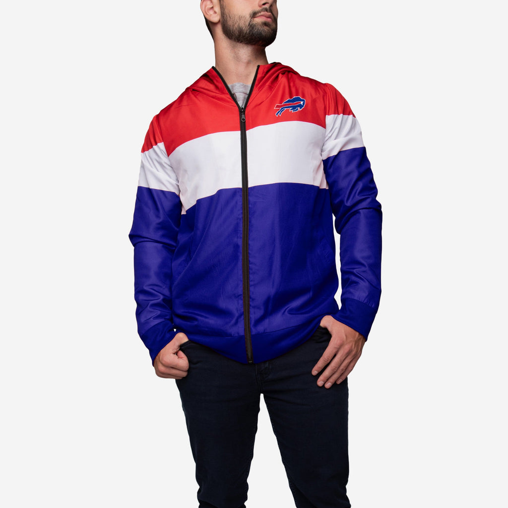 Buffalo Bills Hooded Gameday Jacket FOCO - FOCO.com