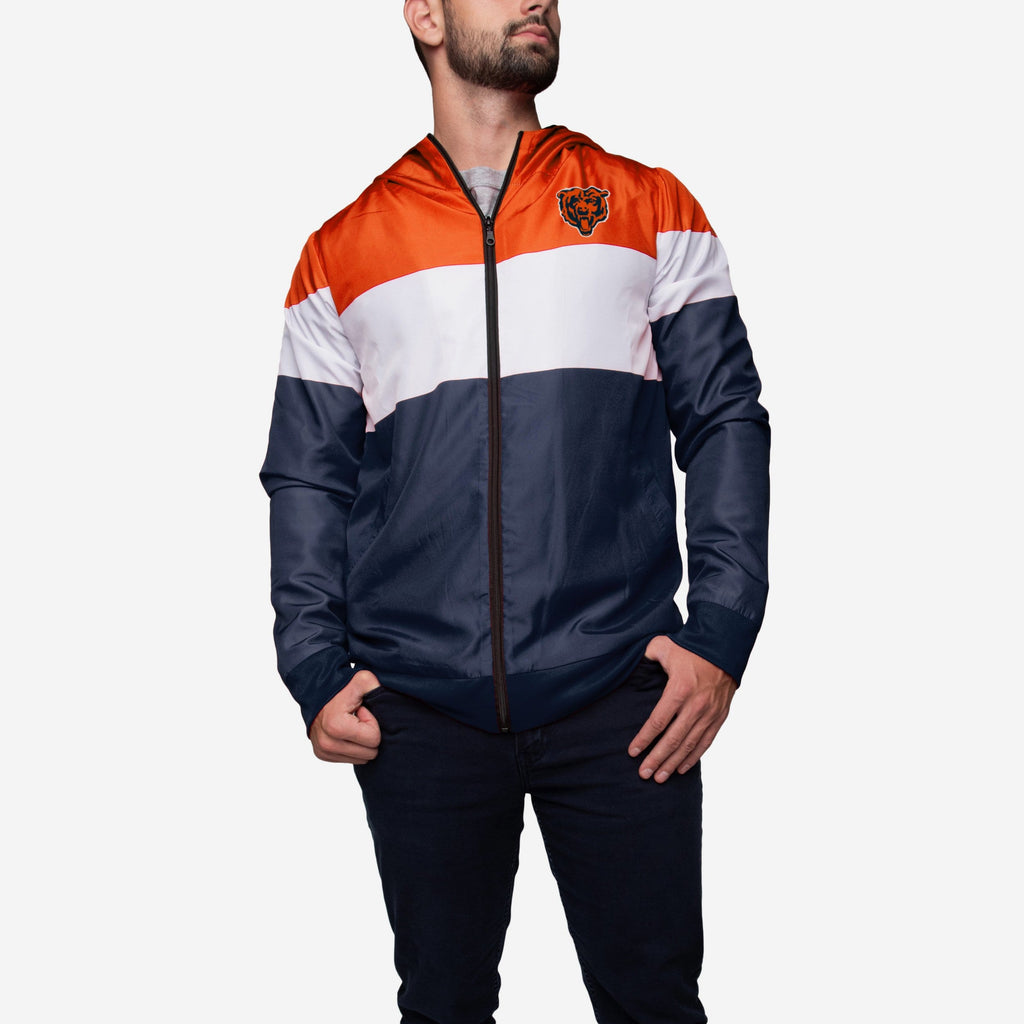 Chicago Bears Hooded Gameday Jacket FOCO - FOCO.com