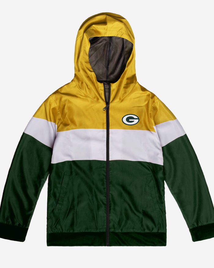 Green Bay Packers Hooded Gameday Jacket FOCO - FOCO.com