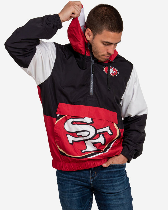 San Francisco 49ers Warm-Up Windbreaker FOCO S - FOCO.com