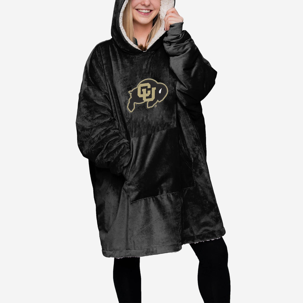 Colorado Buffaloes Reversible Big Logo Hoodeez