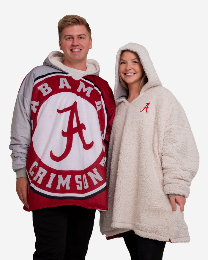 Alabama Crimson Tide Reversible Colorblock Hoodeez FOCO - FOCO.com