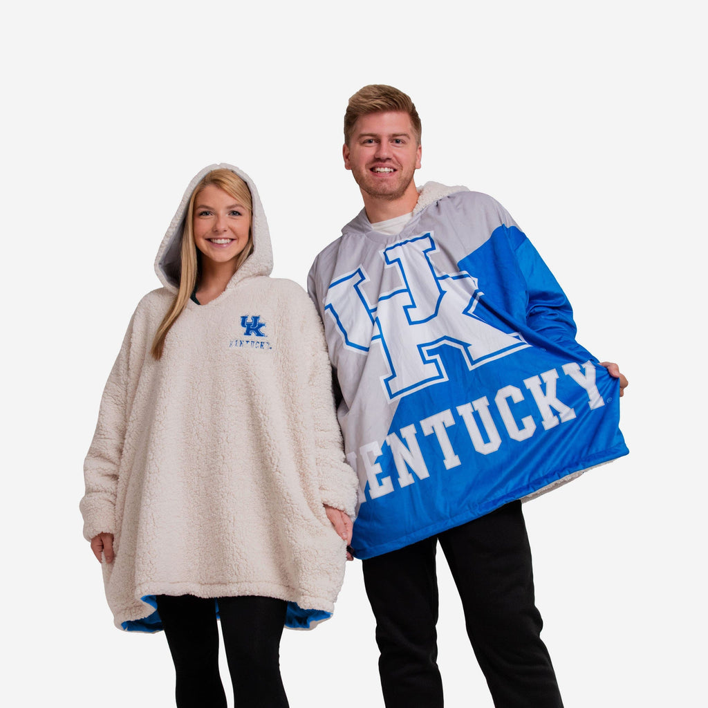 Kentucky Wildcats Reversible Colorblock Hoodeez FOCO - FOCO.com