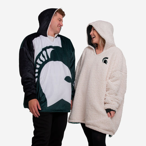 Michigan State Spartans Reversible Colorblock Hoodeez