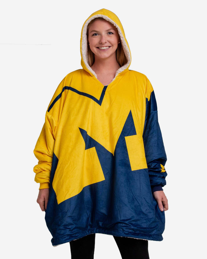 Michigan Wolverines Reversible Colorblock Hoodeez FOCO - FOCO.com