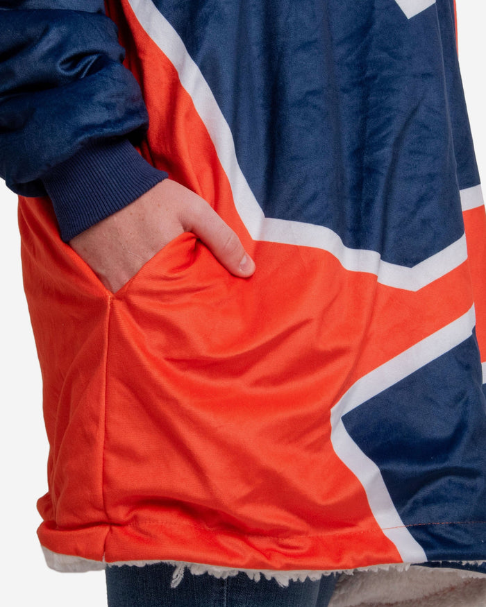 Syracuse Orange Reversible Colorblock Hoodeez FOCO - FOCO.com
