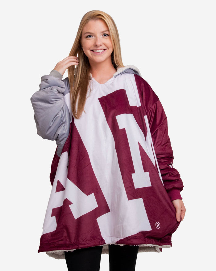 Texas A&M Aggies Reversible Colorblock Hoodeez FOCO - FOCO.com